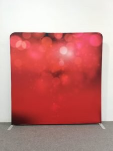 Red Backdrop for Events & Weddings